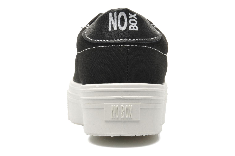 Sneaker No Box Alma schwarz ansicht von rechts