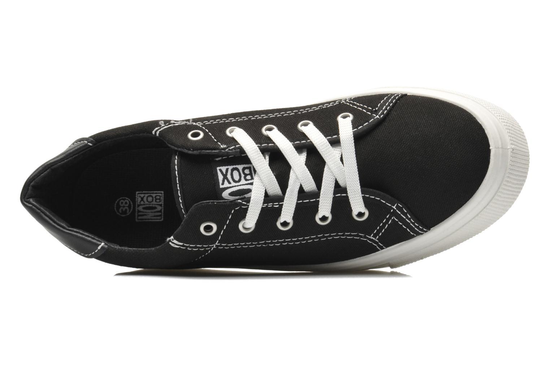 Sneaker No Box Alma schwarz ansicht von links