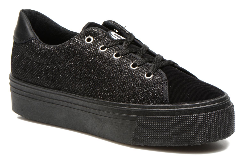 Sneakers No Box Alma Zwart detail