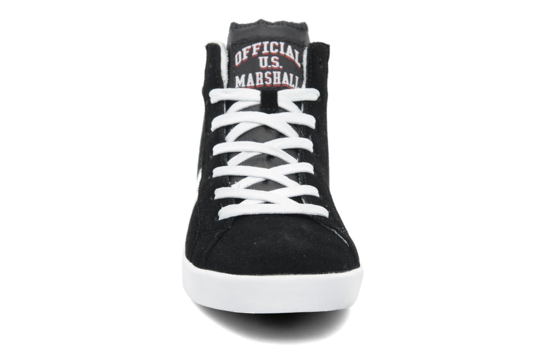 Baskets US Marshall Dofin M Noir vue portées chaussures