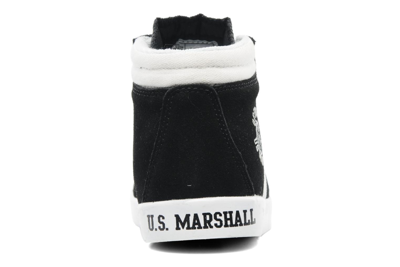Baskets US Marshall Dofin M Noir vue droite