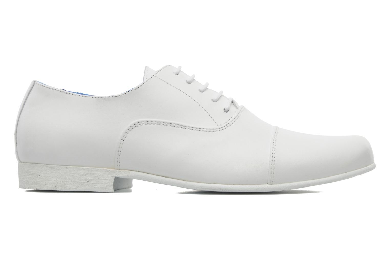 Chaussures à lacets Swear Jimmy 1 W Blanc vue derrière