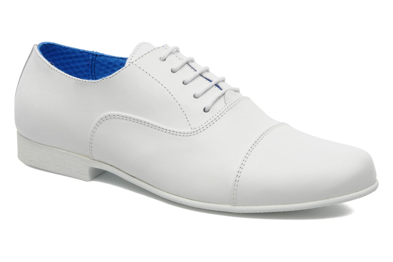 Chaussures à lacets Swear Jimmy 1 W Blanc vue détail/paire