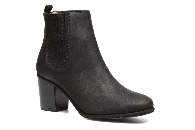 Brenda Boot Black Suede 001