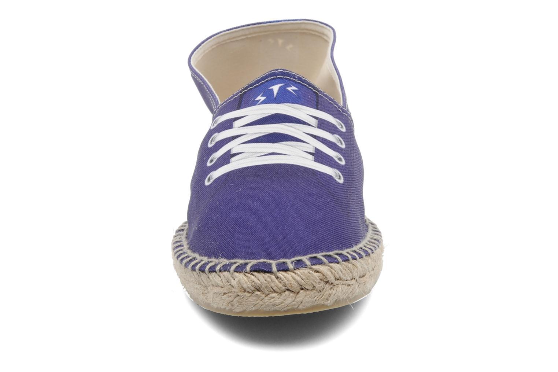Espadrilles String Republic Bjorn Violet vue portées chaussures