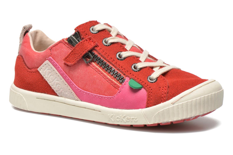 Sneaker Kickers Zigzaguer rosa detaillierte ansicht/modell