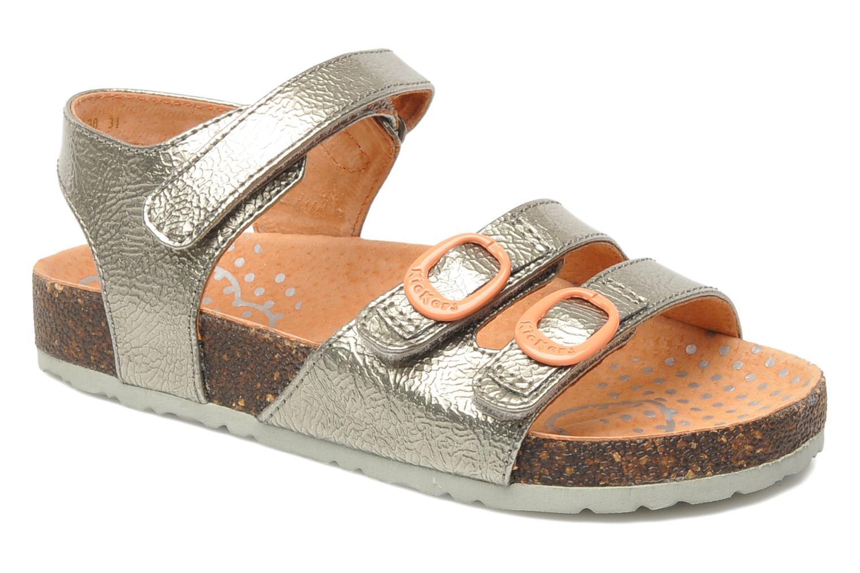 Sandaler Kickers Magipop Sølv detaljeret billede af skoene