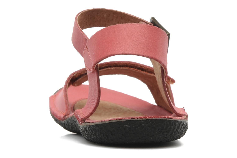 Sandalen Kickers Pepsi Roze rechts