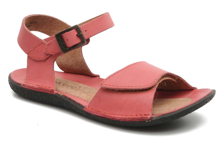 Sandalen Kickers Pepsi Roze detail