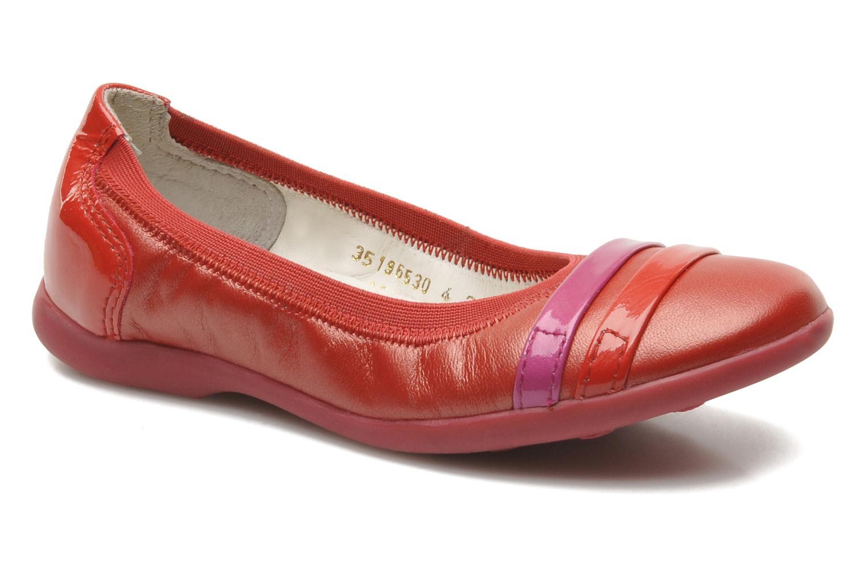 Ballerinas Kickers Amberi rot detaillierte ansicht/modell