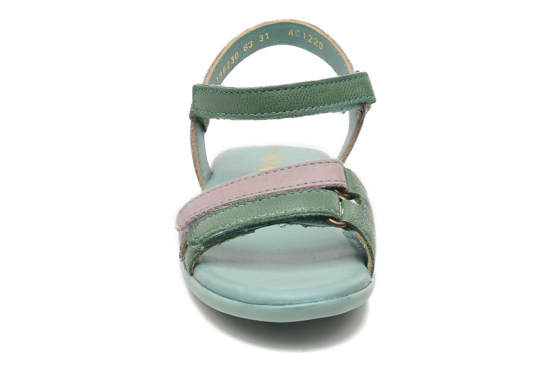 Sandaler Kickers Arcenciel Grön bild av skorna på