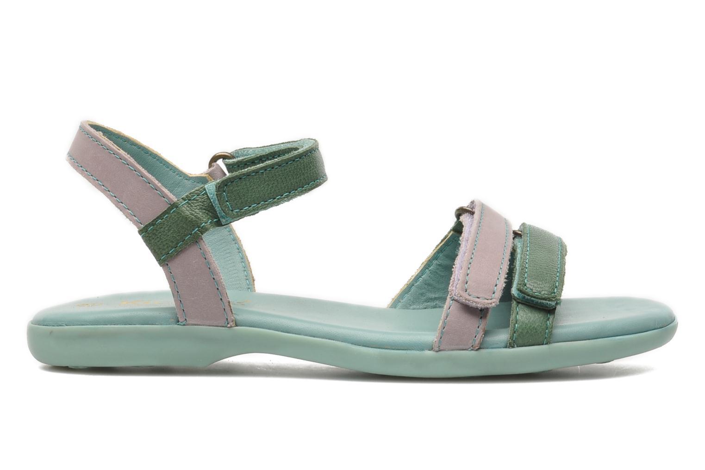 Sandalen Kickers Arcenciel grün ansicht von hinten