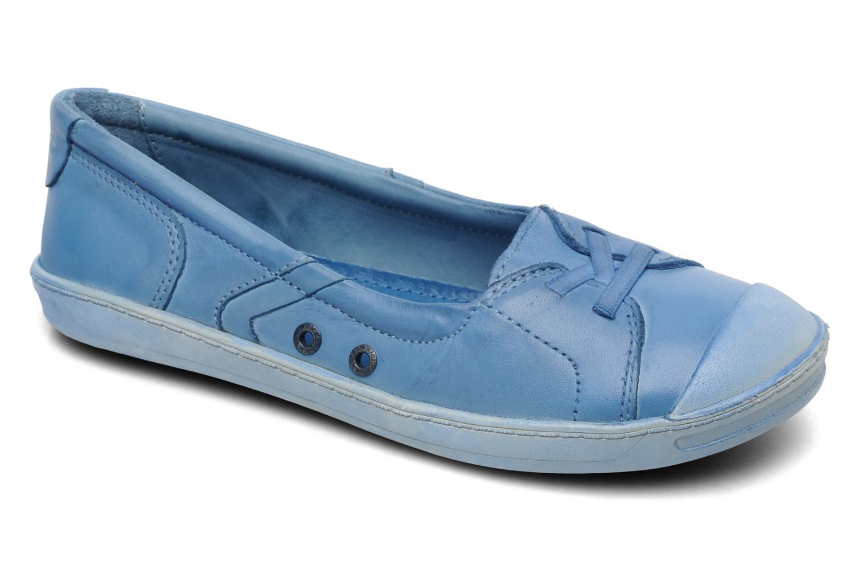 Ballerinas Kickers Karenine blau detaillierte ansicht/modell