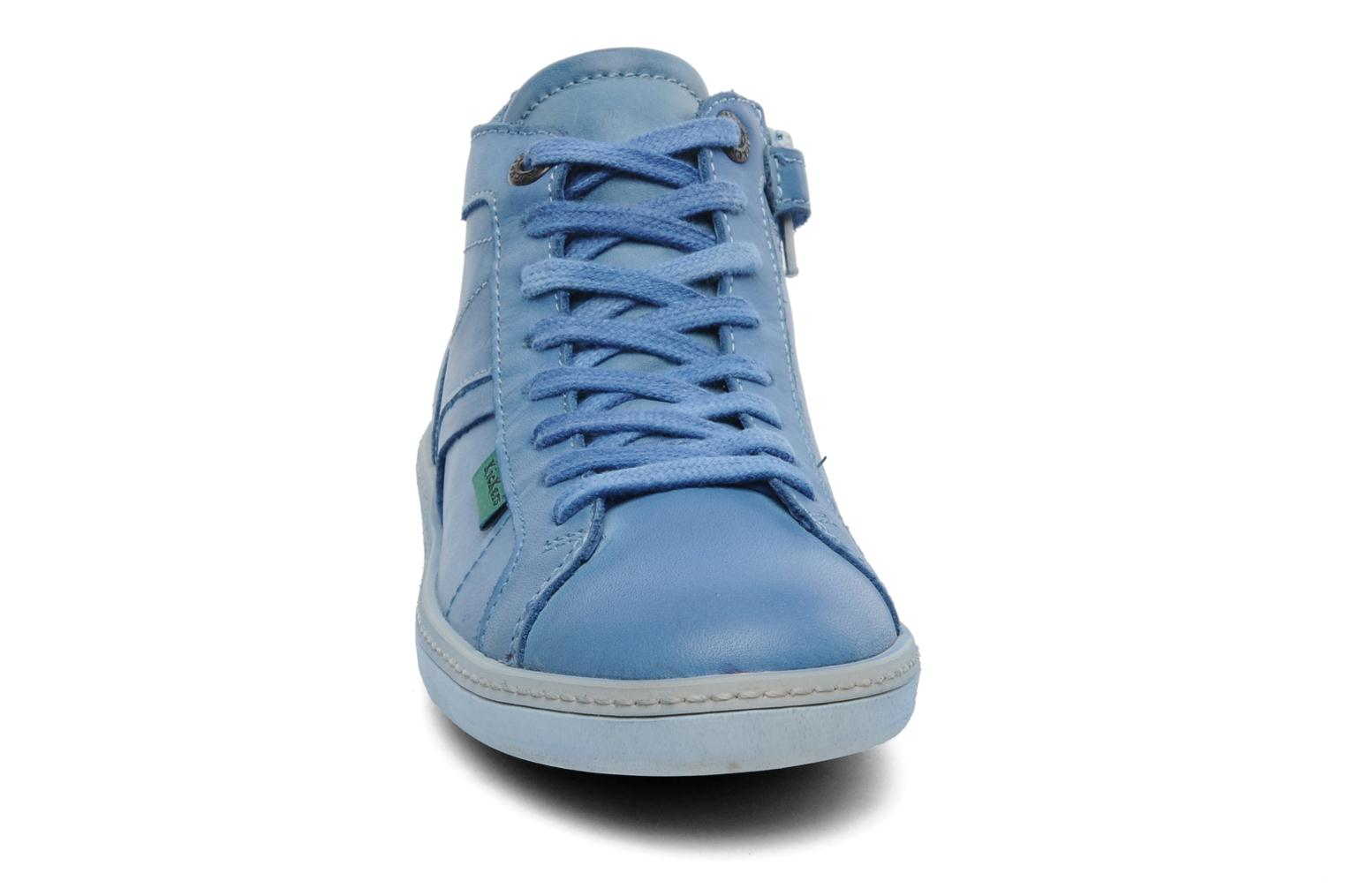 Sneakers Kickers Happier E Blauw model