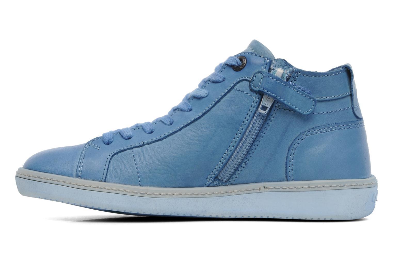 Sneakers Kickers Happier E Blauw voorkant