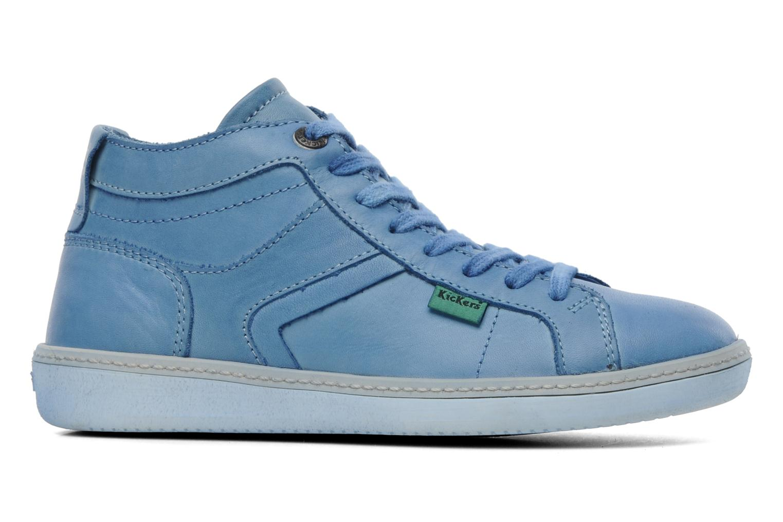 Sneakers Kickers Happier E Blauw achterkant