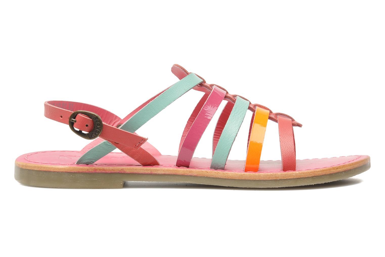 Sandalen Kickers Dixmillion rosa ansicht von hinten