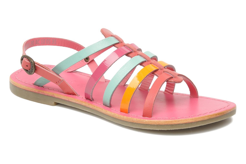 Sandalen Kickers Dixmillion rosa detaillierte ansicht/modell