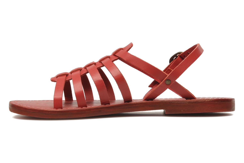 Sandalen Kickers Dixmillion Rood voorkant