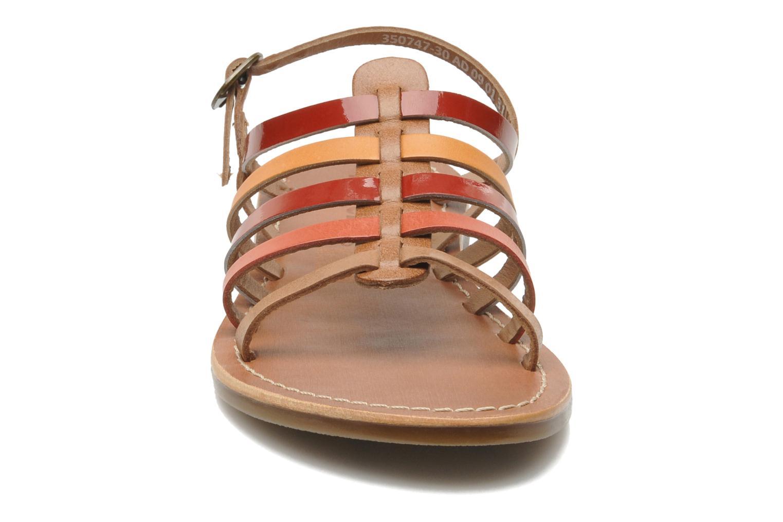 Sandales et nu-pieds Kickers Dixmillion Multicolore vue portées chaussures