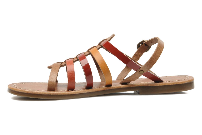 Sandales et nu-pieds Kickers Dixmillion Multicolore vue face