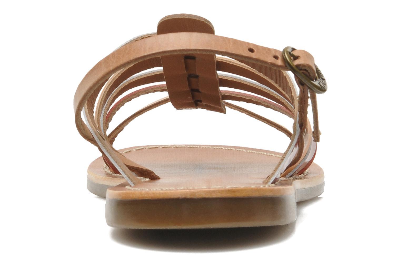 Sandales et nu-pieds Kickers Dixmillion Multicolore vue droite
