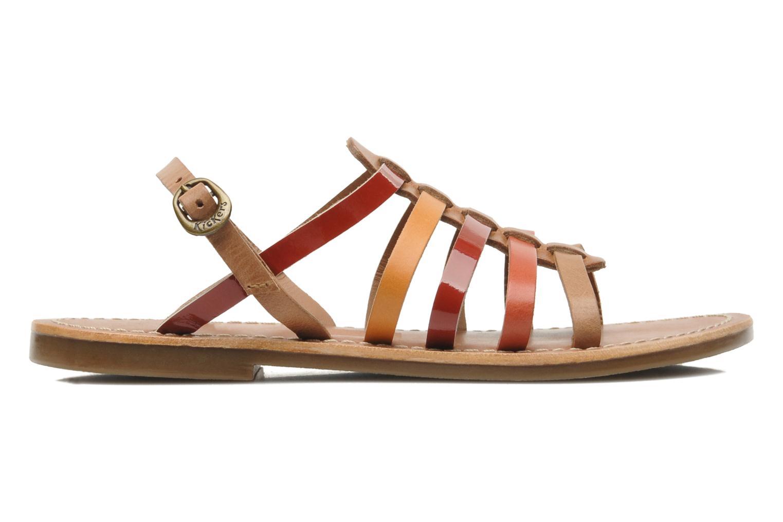 Sandales et nu-pieds Kickers Dixmillion Multicolore vue derrière