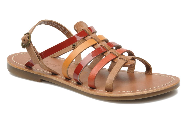 Sandalen Kickers Dixmillion mehrfarbig detaillierte ansicht/modell
