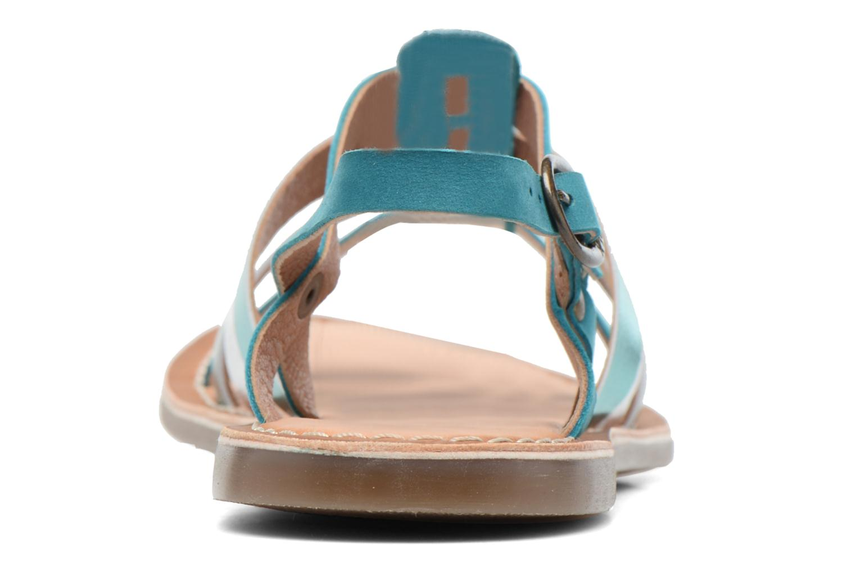 Sandaler Kickers Dixmillion Grøn Se fra højre
