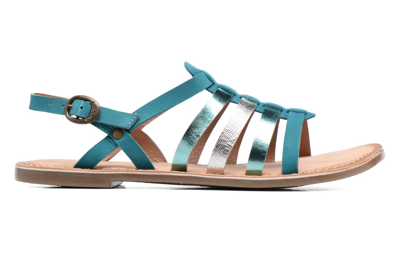 Sandales et nu-pieds Kickers Dixmillion Vert vue derrière