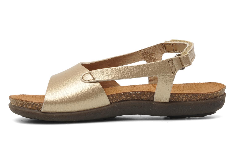 Sandalen Kickers Anatokid gold/bronze ansicht von vorne