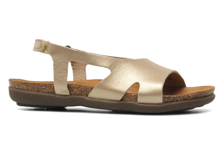Sandales et nu-pieds Kickers Anatokid Or et bronze vue derrière