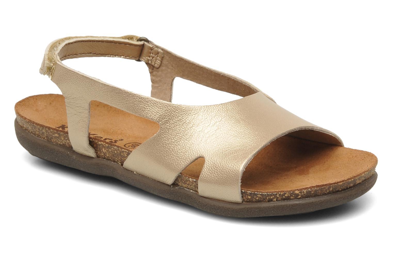 Sandalen Kickers Anatokid gold/bronze detaillierte ansicht/modell