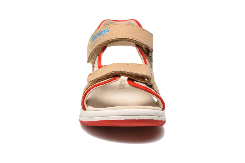 Sandalen Kickers Platino Grijs model
