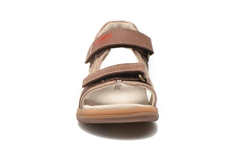 Sandalen Kickers Platino Bruin model