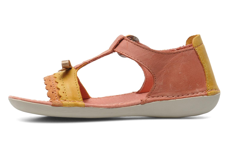 Sandalen Kickers Especial Roze voorkant