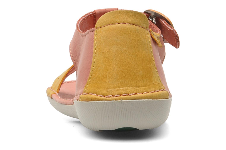 Sandales et nu-pieds Kickers Especial Rose vue droite