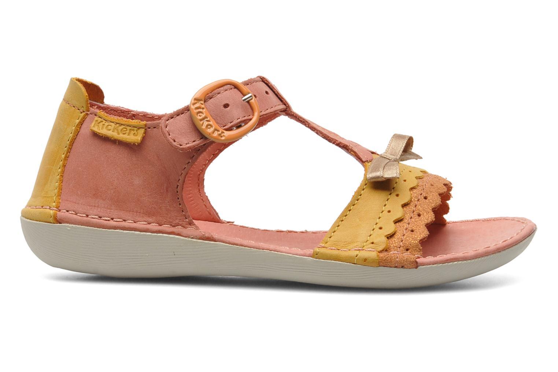 Sandales et nu-pieds Kickers Especial Rose vue derrière