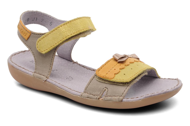 Sandalen Kickers Espiegle beige detaillierte ansicht/modell
