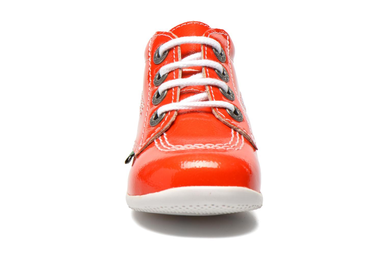 Botines  Kickers Billista Naranja vista del modelo