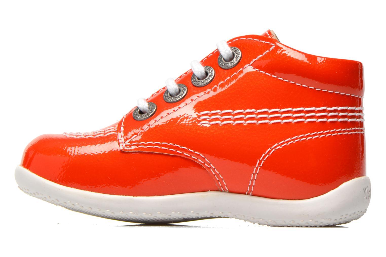 Bottines et boots Kickers Billista Orange vue face
