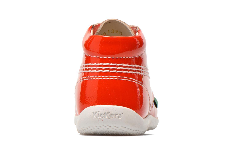 Bottines et boots Kickers Billista Orange vue droite