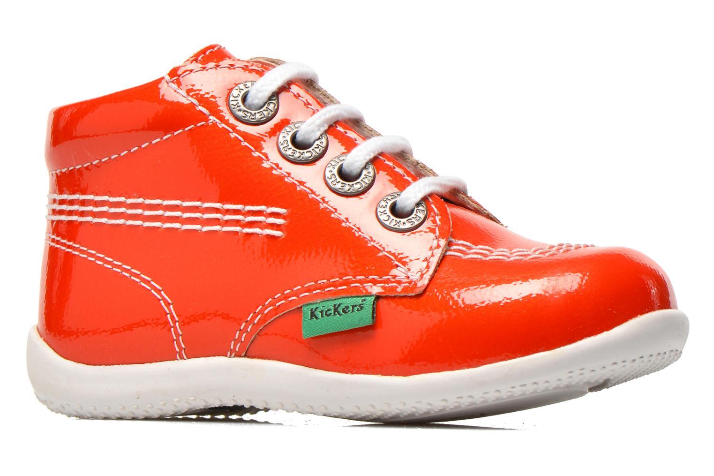 Bottines et boots Kickers Billista Orange vue derrière