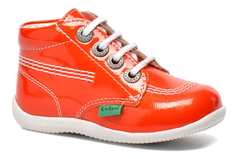 Boots en enkellaarsjes Kickers Billista Oranje detail