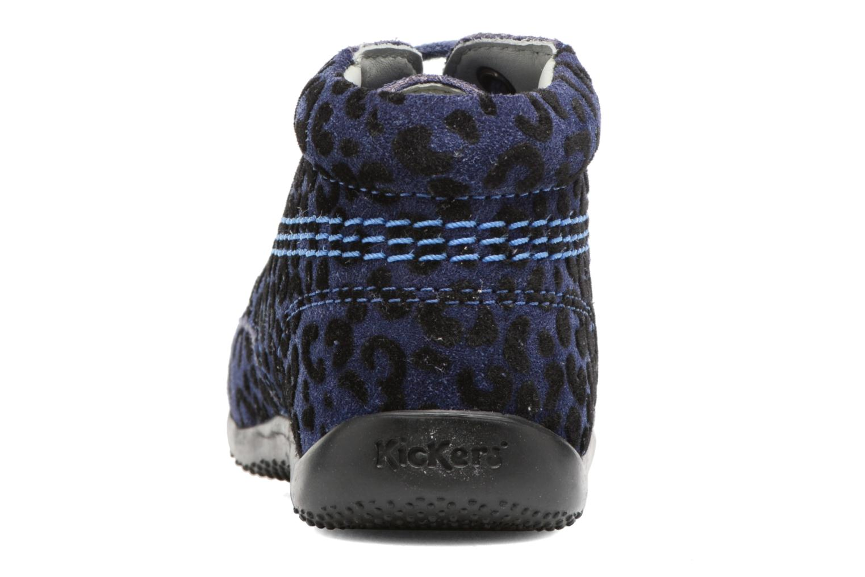 Bottines et boots Kickers Billista Bleu vue droite
