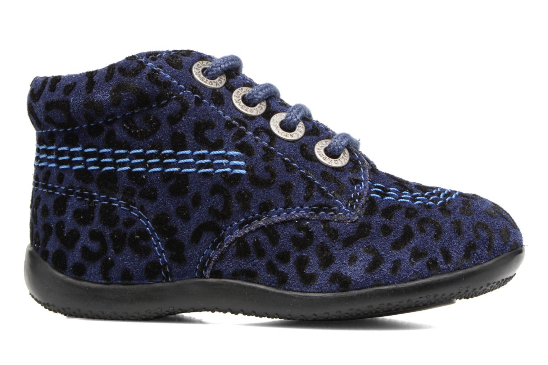 Bottines et boots Kickers Billista Bleu vue derrière