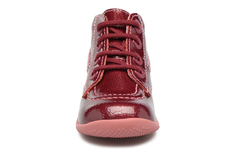 Bottines et boots Kickers Billista Violet vue portées chaussures