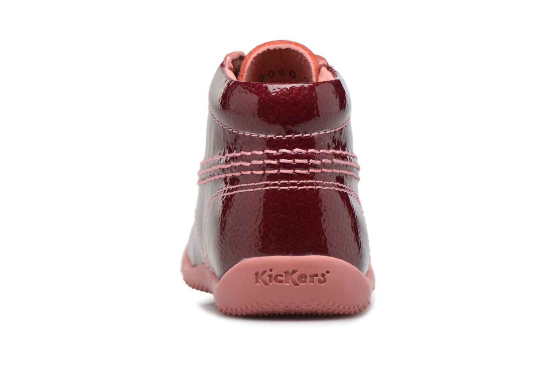 Bottines et boots Kickers Billista Violet vue droite