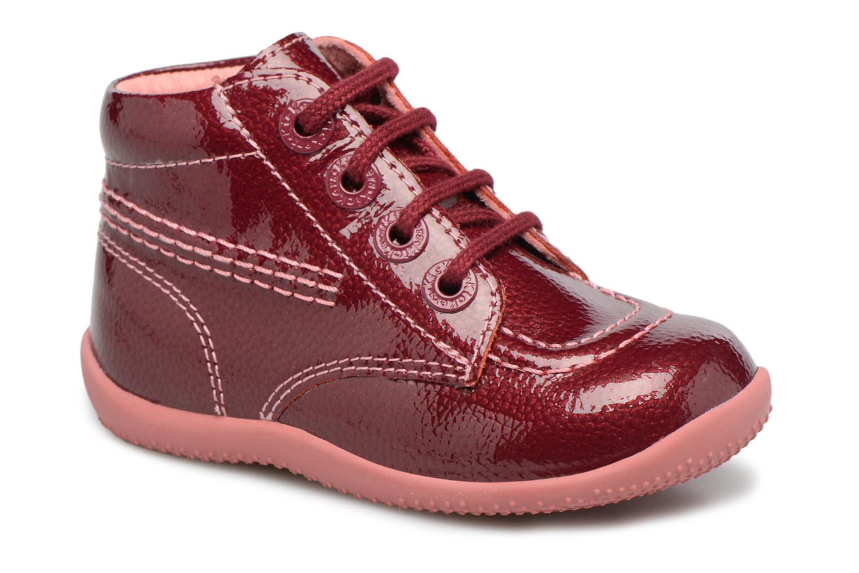 Bottines et boots Kickers Billista Violet vue détail/paire