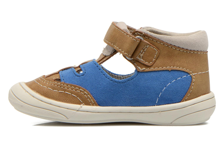 Sandalen Kickers Zelou beige ansicht von vorne